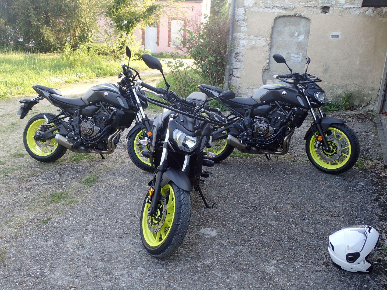Yamaha MT07 Permis A2