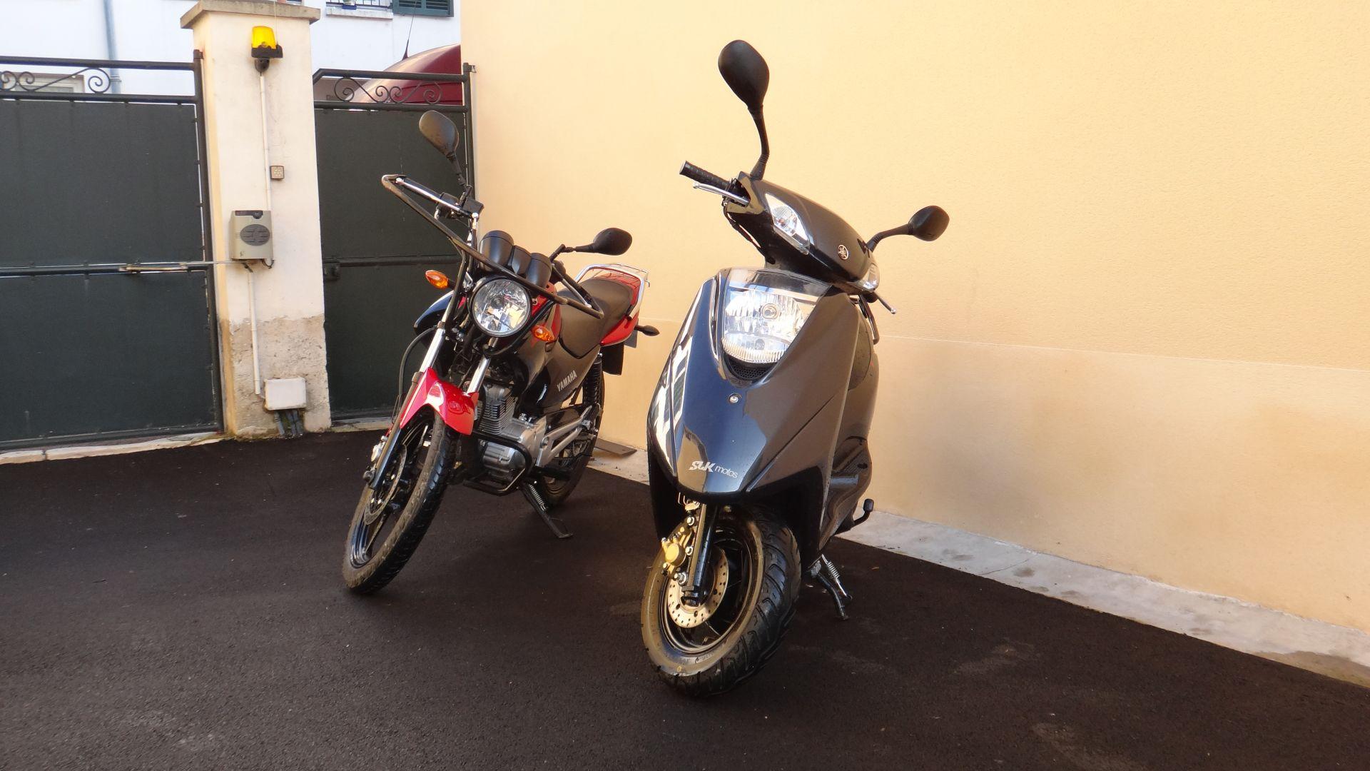 3 Yamaha 125 Permis A1 (YS + Scooter)
